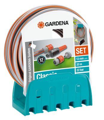 Gardena nástěnný držák s hadicí 18005-20