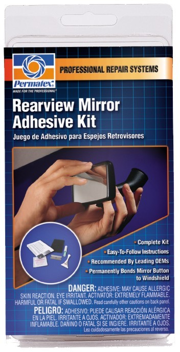 Permatex Dvousložkové lepidlo na zpětné zrcátko - Rearview Mirror Adhesive Kit