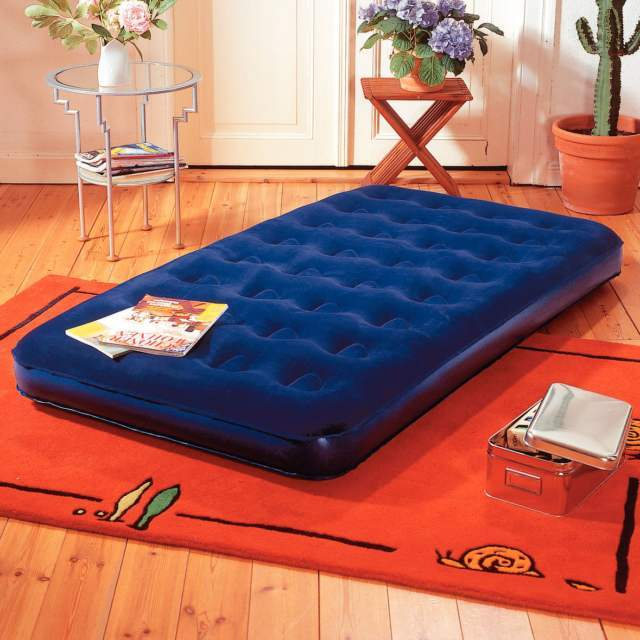 PROFESIONAL Nafukovací postel Komfort modrá