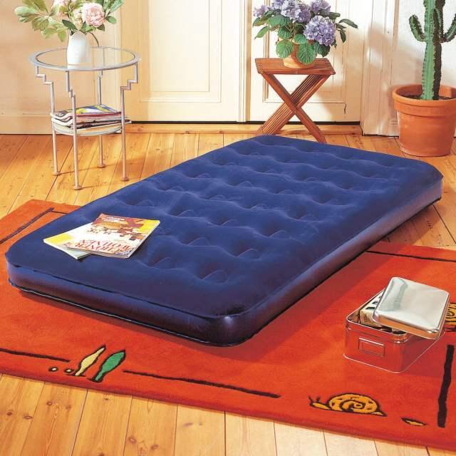 PROFESIONAL Nafukovací postel Komfort modrá dvojlůžko
