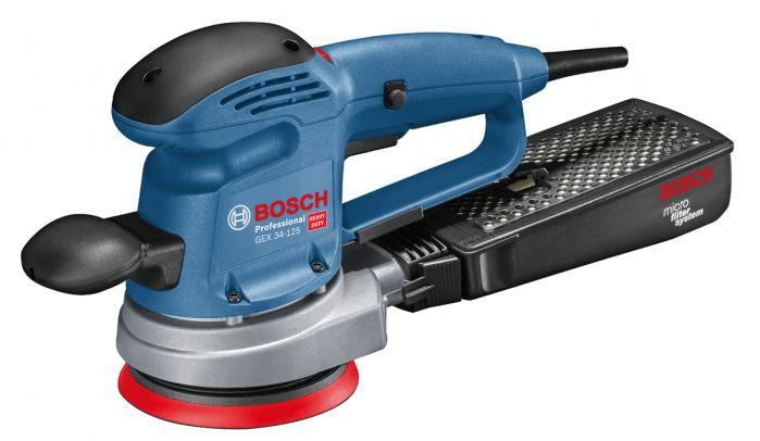 Bosch GEX 34-125 (holé nářadí) Excentrická bruska