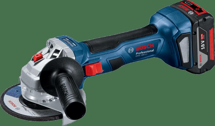Bosch GWS 180-LI (2x4.0 Ah) Úhlová bruska Ø125 mm