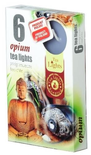 Z-Trade Čajové 6ks Opium vonné svíčky