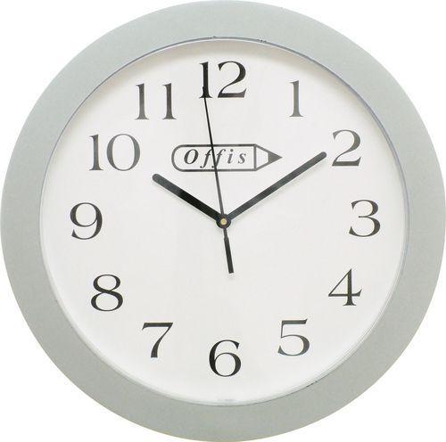 """OFFIS Kulaté bílé nástěnné hodiny 244mm (10"""")"""
