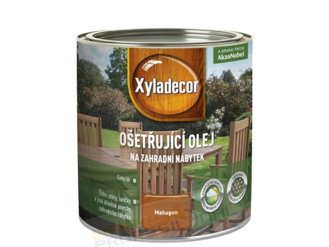 XYLADECOR OŠETŘUJÍCÍ OLEJ - 0,75L, ošetřující olej k ochraně a konzervaci povrchově neošetřeného zahradního nábytku z tvrdého dř