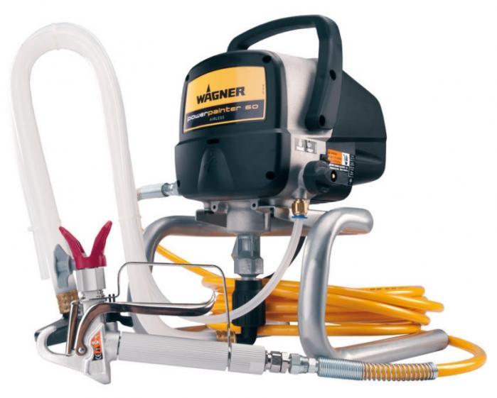 Wagner POWER PAINTER 60 airless zařízení pro domácí menší projekty, doplňkové a domácí práce