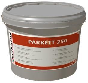 SCHÖNOX PARKETT 250 lepidlo na parkety elastické ve střihu snízkými emisemi 16Kg