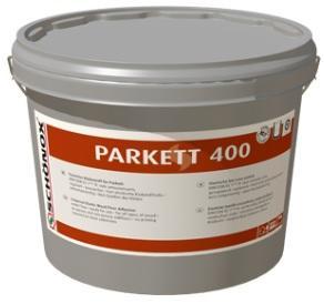 SCHÖNOX PARKETT 400 Speciální bezvodé tvrdě-elastické lepidlo na parkety s nízkými emisemi 16Kg