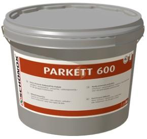 SCHÖNOX PARKETT 600 Univerzální SMP lepidlo pro lepení parket a neošetřených korkových čtverců 16Kg