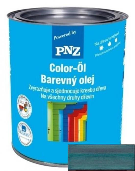 PNZ Barevný olej petrolblau / petrolejová 0,25 l