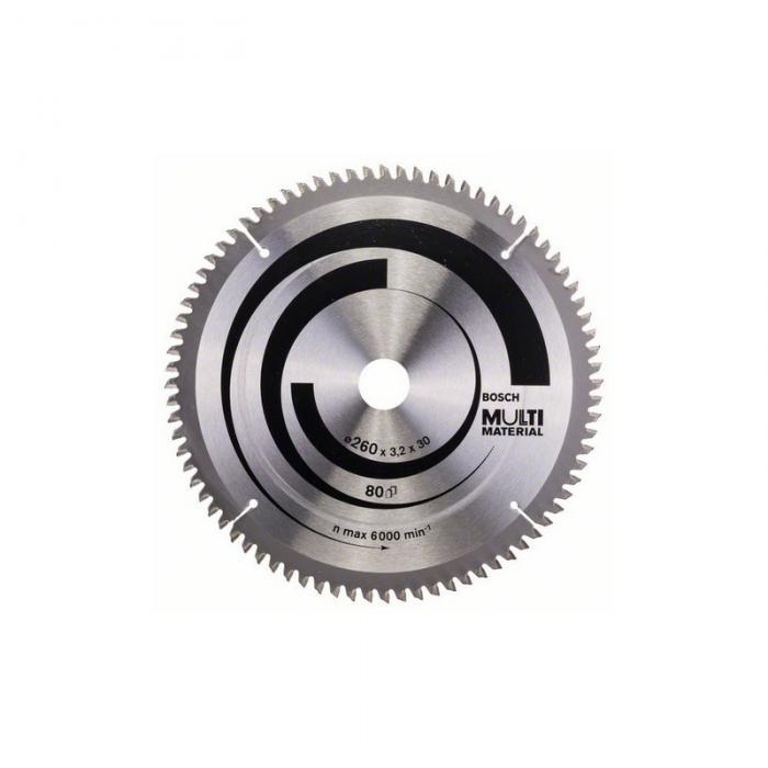 2608641204 pilový kotouč Ø260/30 80z Bosch Multi Material