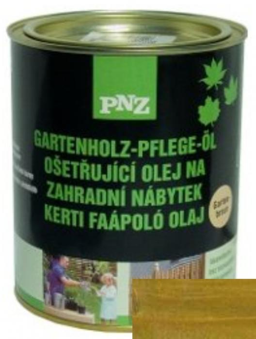 PNZ Ošetřující olej na zahradní nábytek salzgrün / slaná zelená 0,75 l