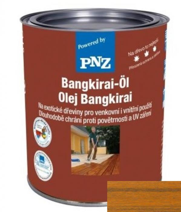 PNZ Olej bangkirai naturgetönt / přírodní tónovaná 10 l