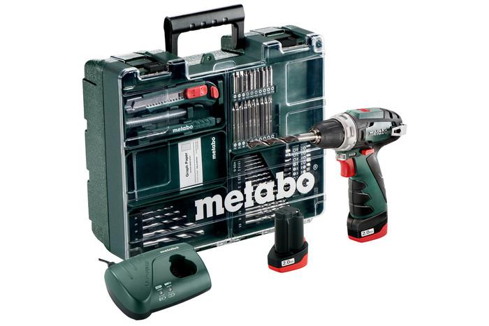 Metabo PowerMaxx BS Basic Set akumulátorový vrtací šroubovák