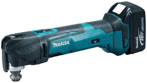 Makita DTM51RFJX1 Aku Multi Tool s příslušenstvím Li-ion 18V/3,0Ah
