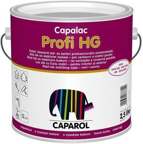 Caparol Capalac Profi HG bílá 1 L lesklý vysoce kvalitní nátěr na kov, dřevo a tvrzené PVC