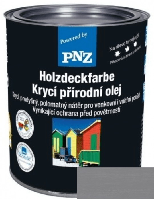 PNZ Krycí přírodní olej verkehrsgrau / dopravní šedá 10 l