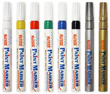 ALTECO POPIS.stříbrný (Paint Markers) / popisovač na blistru, barevné popisovače pro každou příležitost
