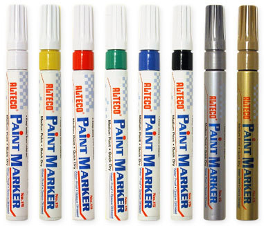 ALTECO POPIS.bílý (Paint Markers) / popisovač na blistru, barevné popisovače pro každou příležitost