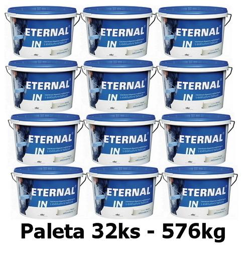 AUSTIS ETERNAL IN 576kg Interiérová disperzní malířská barva s exkluzivní bělost