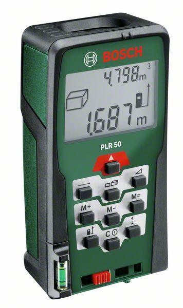 BOSCH PLR 50 digitální laserový dálkoměr