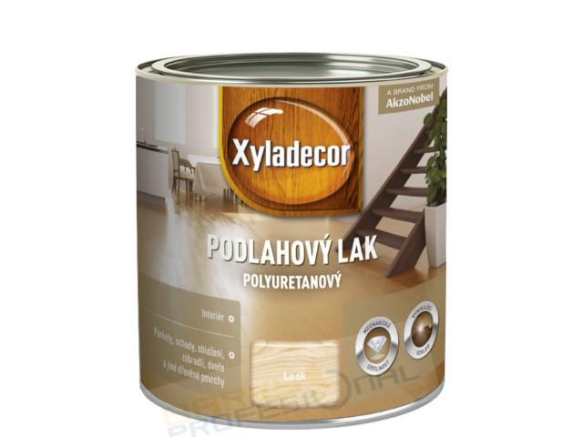 XYLADECOR PODLAHOVÝ LAK polyuretanový 2,5L - polomat bezbarvý jednosložkový lak na bázi rozpouštědel pro použití v interiéru