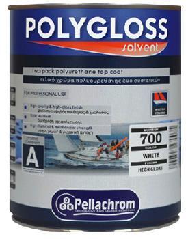 Pellachrom Polygloss A+B 2,5L odstín dle variant lesk - dvousložkový polyuretanová vrchní email s vysokou odolností
