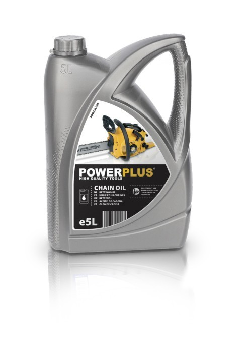 POWERPLUS X Olej na mazání řetězů 5 litrů