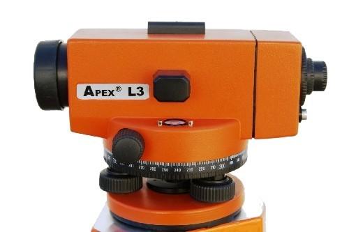 APEX Nivelační přístroj L3 - sada