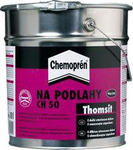 HENKEL Thomsit Chemoprén na podlahy - 0,5L Kontaktní rozpouštědlové lepidlo s vysokou pevností pro celoplošné lepení