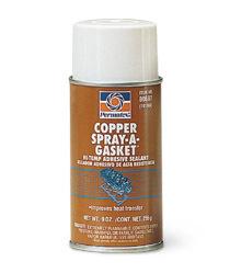 Permatex Těsnící tmel s obsahem mědi - Copper Spray-A-Gasket Hi Temp Adh.Sealant 255g.