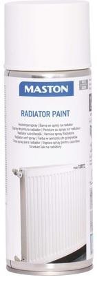 Maston BARVA NA RADIÁTOR Radiator spray paint je speciálně vyrobená na radiátory 400ml