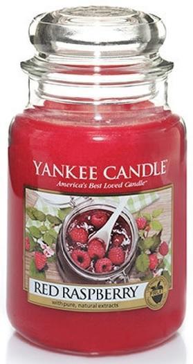 Vonná Svíčka YANKEE CANDLE Red Raspberry CLASSIC VELKÝ Červená malina