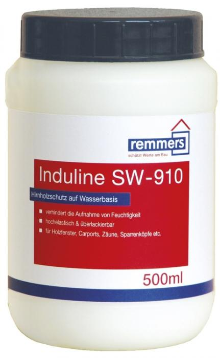 REMMERS Induline SW 910 Přípravek na ochranu čelních ploch dřeva na vodní bázi 0,5L