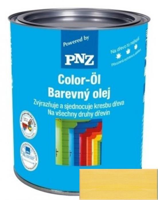 PNZ Barevný olej rapsgelb / řepka žlutá 0,25 l