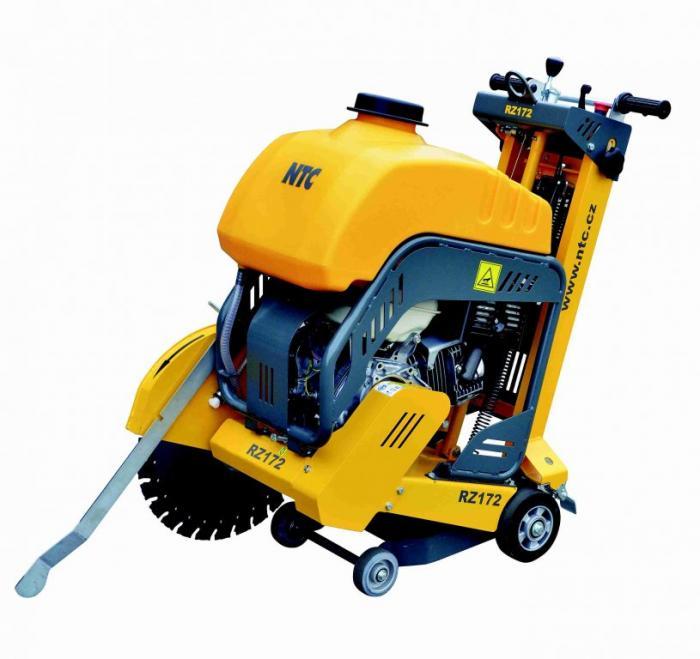 NTC RZ122 - Řezač spár poháněný benzínovým motorem HONDA, hloubka řezu 120 mm