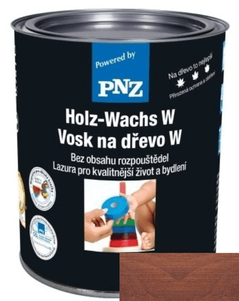 PNZ Vosk na dřevo W rustikal / rustikální 0,25 l