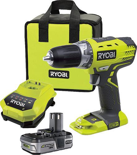 RYOBI - nářadí RYOBI RCD 18021 L aku 2-rychlostní kompaktní vrtací šroubovák