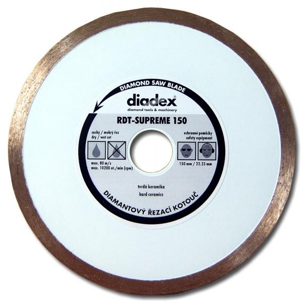 DIADEX RDT-SUPREME 200-25.4H diamantový kotouč