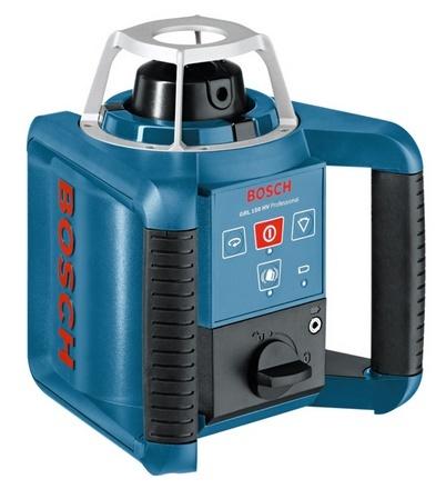 BONDHUS Rotační laser GRL 150 + LR1 + RC1 + WM4 + BT300 + GR240