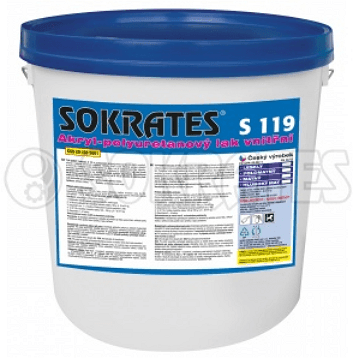 Sokrates / S 119 PU polyuretanový lak - lesk 2 kg - profi