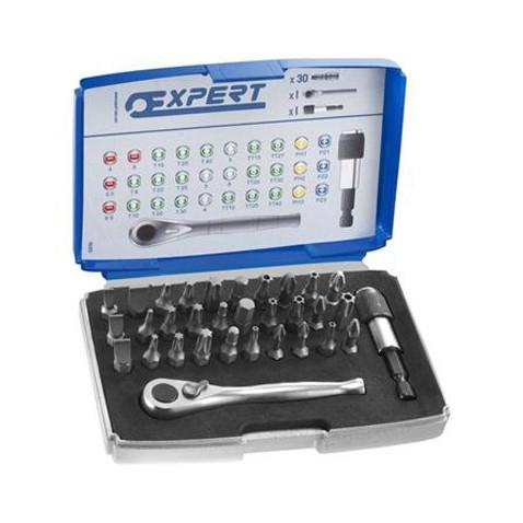 TONA EXPERT E131702 32dílná sada 1/4 bitů 25mm