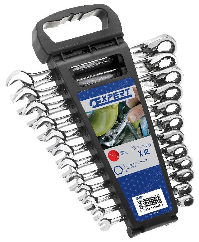 TONA EXPERT E111106 12 dílná sada ráčnových klíčů