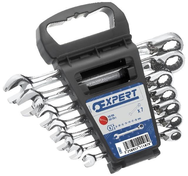 TONA EXPERT E111107 7 dílná sada ráčnových klíčů