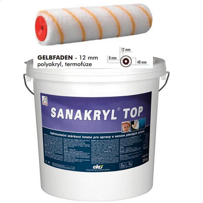 AUSTIS SANAKRYL TOP 25kg hydroizolační stěrka ,nátěr pro opravy a sanace plochých a šikmých střech