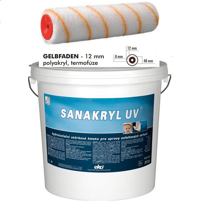 AUSTIS SANAKRYL UV 25kg hydroizolační stěrka ,nátěr pro opravy a sanace plochých a šikmých střech