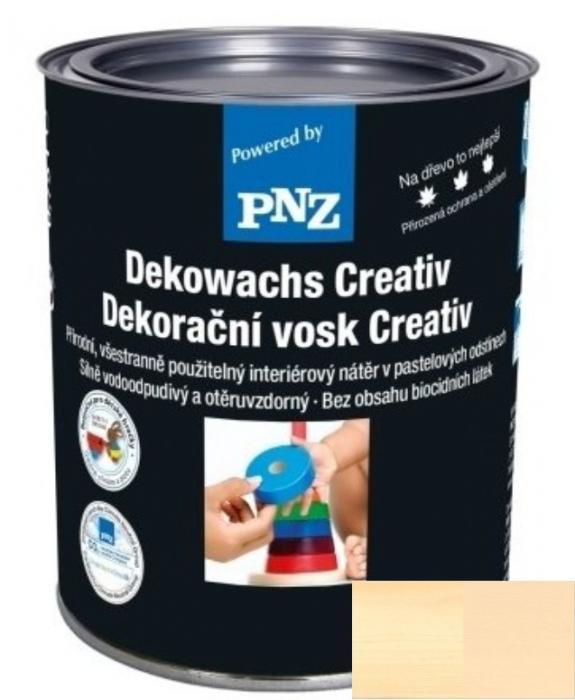 PNZ Dekorační vosk creativ sand / písek 0,25 l