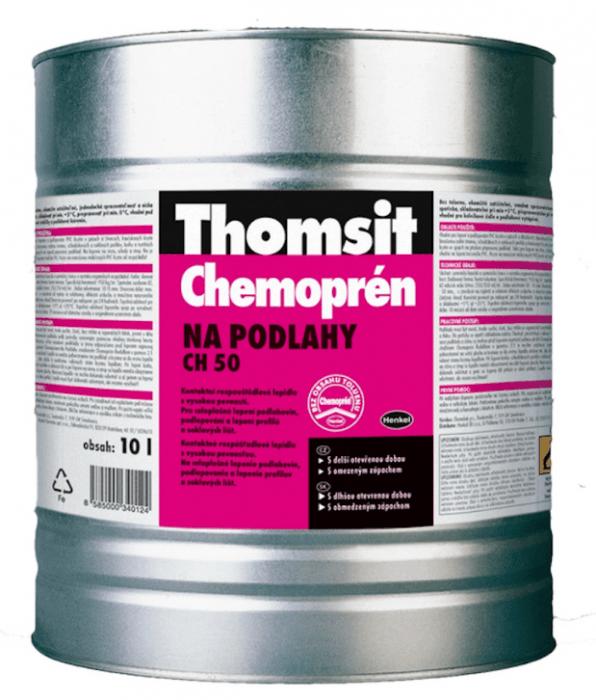 HENKEL Thomsit Chemoprén na podlahy - 1 L Kontaktní rozpouštědlové lepidlo s vysokou pevností - VÝPR