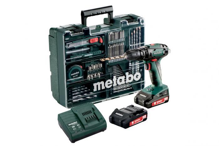 Metabo SB 18 Set
