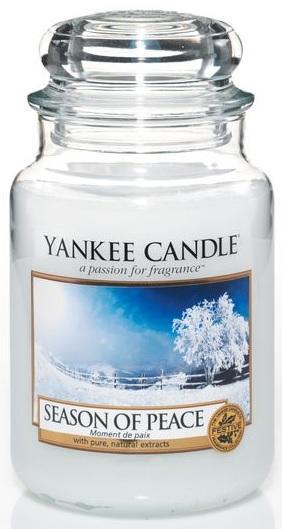 Vonná Svíčka YANKEE CANDLE Season of Peace CLASSIC VELKÝ Období míru